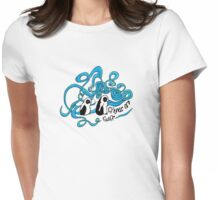 Friends of Fluff Womens Fitted T-Shirt