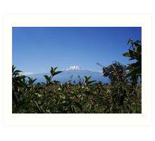 Majestic Mount Kilimanjaro, Tanzania Art Print