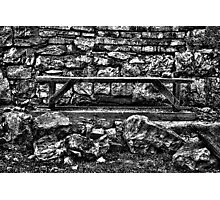 Abandoned Bench Fine Art Print Photographic Print