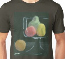 Abstract Fruit on Dark Background Still life Unisex T-Shirt