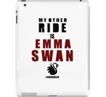 My Other Ride (Emma) iPad Case/Skin
