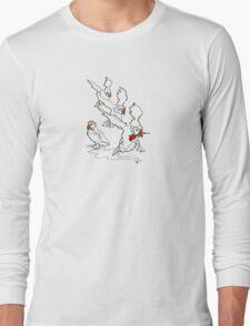 Puffin Series 4 (Rose) Long Sleeve T-Shirt