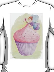 Cherry Fairy puts sprinkles on cupcake T-Shirt