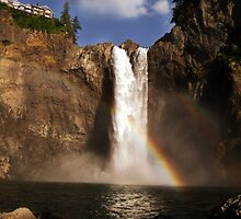Snoqualmie Falls by RavenLacey