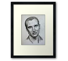 The Ninth Doctor Framed Print