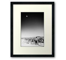 'Windhorse On A String' Framed Print
