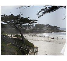 Monterey Beach 1 Poster