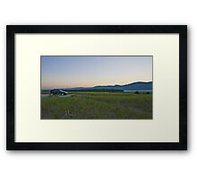 Aspy Bay Cape Breton Framed Print