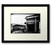 'Garage Iman'  Framed Print