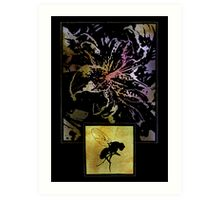 The Flower And The Fly Art Print