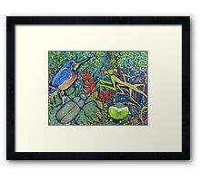 Rainforest Revelry Framed Print