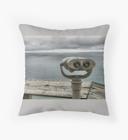 Bay of Fundy Canada Throw Pillow