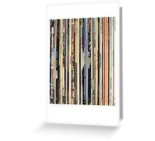 Classic Rock Albums Greeting Card