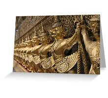 Temple Guards Greeting Card
