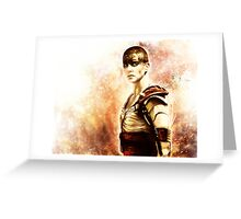 Mad Max : Fury Road - Furiosa Greeting Card