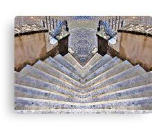 twin stair Canvas Print