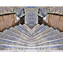 twin stair Photographic Print