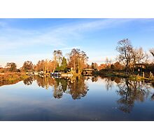 River Wey, Pyrford, Surrey Photographic Print