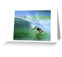 Surf #2 Greeting Card