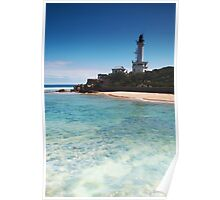 Blue Skys Over Point Lonsdale Poster