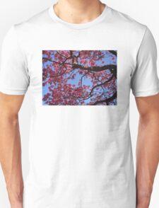Pink Blossoms, Tabebuia Tree Unisex T-Shirt