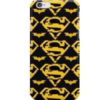 Super Switch - Batman/Superman Logos iPhone Case/Skin