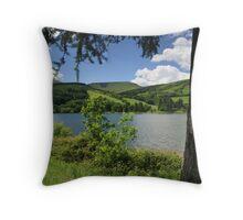 Talybont Reservoir Throw Pillow