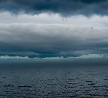 Cloudy Superior by Matthew Schillerberg