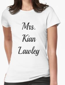 Mrs. Kian Lawley Womens Fitted T-Shirt