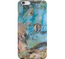 Desert and sea abstract iPhone Case/Skin