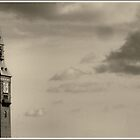 Tower And Clouds by Dirk Pagel