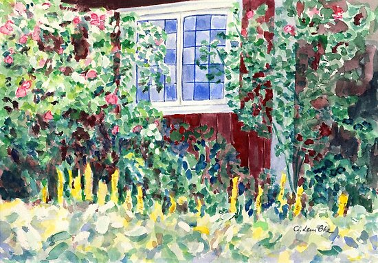 Idyllic Swedish Garden Impression by Caroline  Lembke
