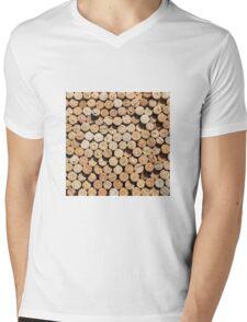 Corks Mens V-Neck T-Shirt