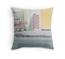 a freudulent construction Throw Pillow