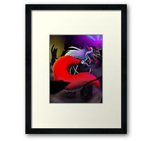 Pocket Dancer Framed Print