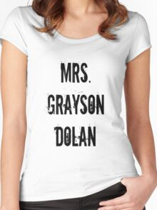 Mrs. Grayson Dolan Women's Fitted Scoop T-Shirt