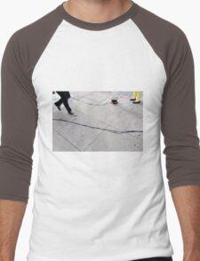 Caught On Tape Men's Baseball ¾ T-Shirt