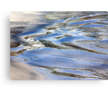 Water paint Metal Print