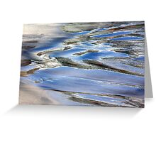 Water paint Greeting Card