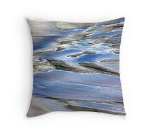 Water paint Throw Pillow