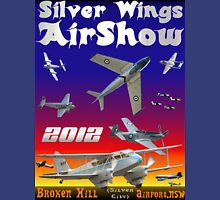 Silver Wings Airshow Design-2 Unisex T-Shirt