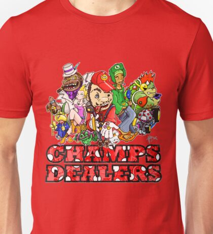 MARIO n' CREW - schrooms dealers Unisex T-Shirt