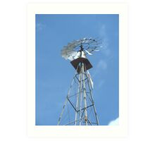 Windmill Art Print