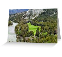 Banff Abbey Springs GC Greeting Card