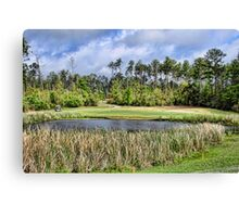 Biloxi Area Golf Course Canvas Print