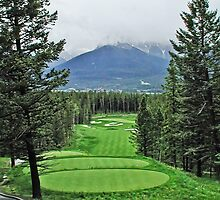 Silver Tip Golf Course Alberta, Canada by Dave Nielsen