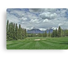 Banff Abbey Springs GC 2 Canvas Print