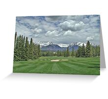 Banff Abbey Springs GC 2 Greeting Card