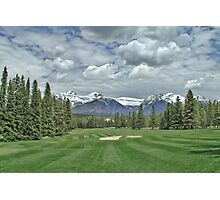 Banff Abbey Springs GC 2 Photographic Print