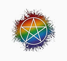 Rainbow Pentacle Unisex T-Shirt